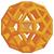 Zometool mnohostěn žlutý